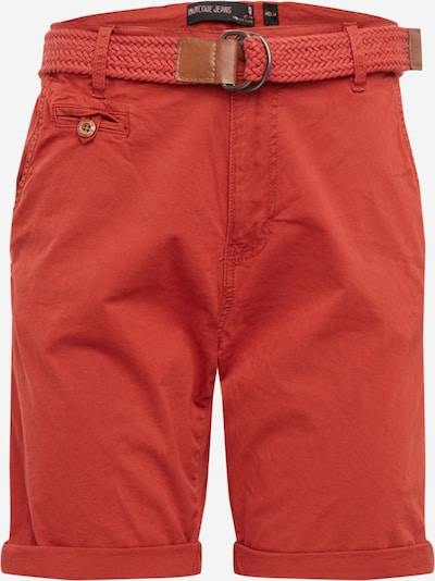 INDICODE JEANS Shorts 'Conor' in weinrot, Produktansicht