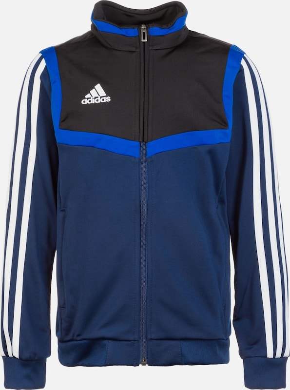 ADIDAS PERFORMANCE Trainingsjacke 'Tiro 19' in blau / navy / weiß, Produktansicht