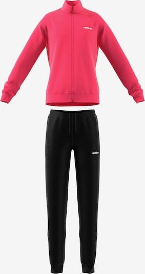 ADIDAS PERFORMANCE Trainingsanzug 'Entry' in pink / schwarz, Produktansicht