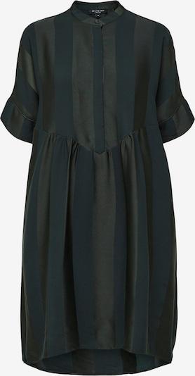 SELECTED FEMME Robe oversize en moka / sapin, Vue avec produit