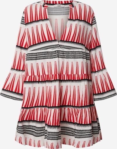 ONLY Kleid 'LUCCA ATHENA' in rot / schwarz / offwhite, Produktansicht