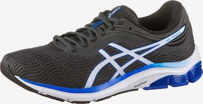 ASICS Laufschuh in blau / schwarz / weiß, Produktansicht