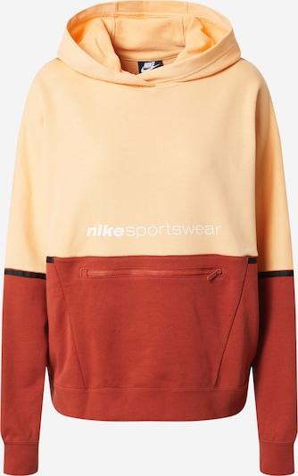 Nike Sportswear Sweatshirt 'ARCHIVE RMX' in orange / pastellrot, Produktansicht