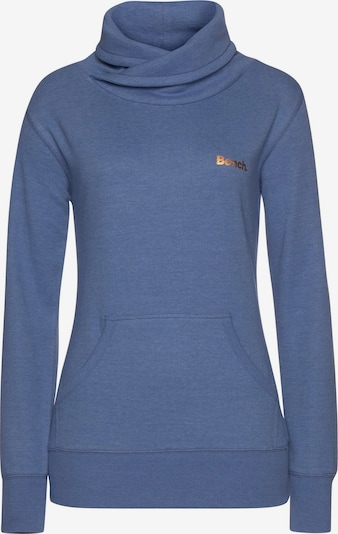BENCH Sweatshirt in blue denim, Produktansicht