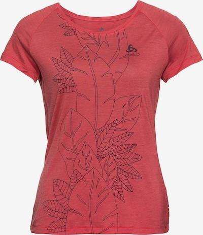 ODLO Shirt in rostrot / schwarz, Produktansicht