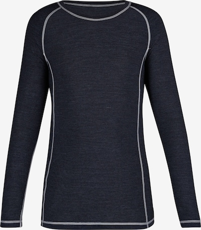 Skiny Langarmshirt in nachtblau, Produktansicht