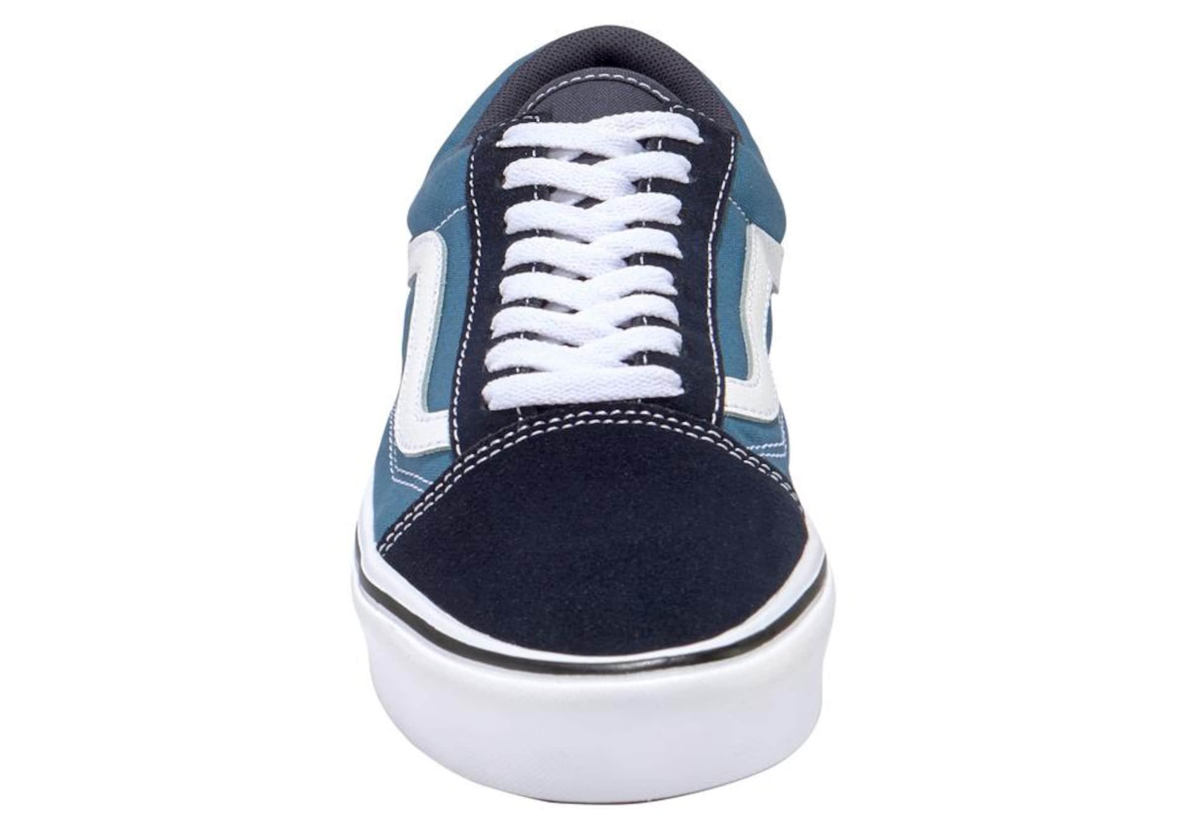 Old Cush Vans Weiß Skool' In Sneaker NachtblauHimmelblau 'comfy OTXuZPki