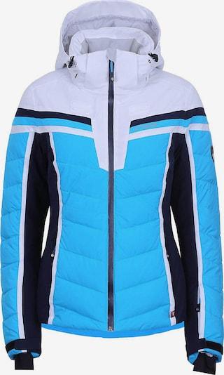 ICEPEAK Jacke 'Flora' in blau / schwarz / weiß, Produktansicht