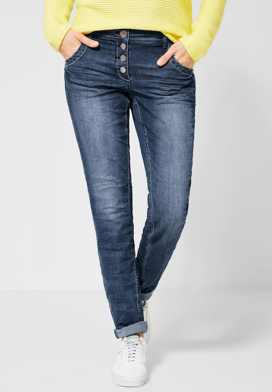 CECIL Denim 'Scarlett' in blue denim, Modelansicht