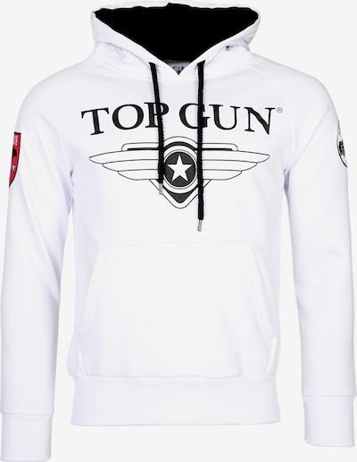 TOP GUN Kapuzenpulli ' Defender ' in weiß, Produktansicht