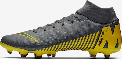 NIKE Fußballschuhe 'Mercurial 6 Academy FG/MG in gelb / dunkelgrau / schwarz, Produktansicht