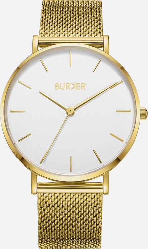BURKER Watches Uhr 'Ruby' Gold White in gold / weiß, Produktansicht