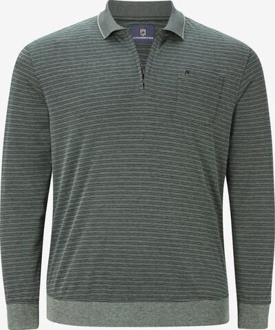 Jan Vanderstorm Shirt 'Elberg' in de kleur Groen: Vooraanzicht