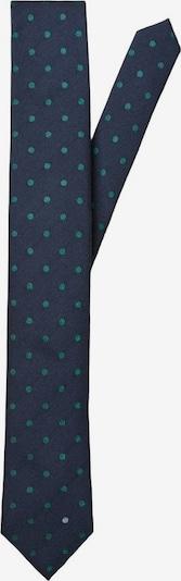 SELECTED HOMME Cravate en bleu foncé / vert, Vue avec produit