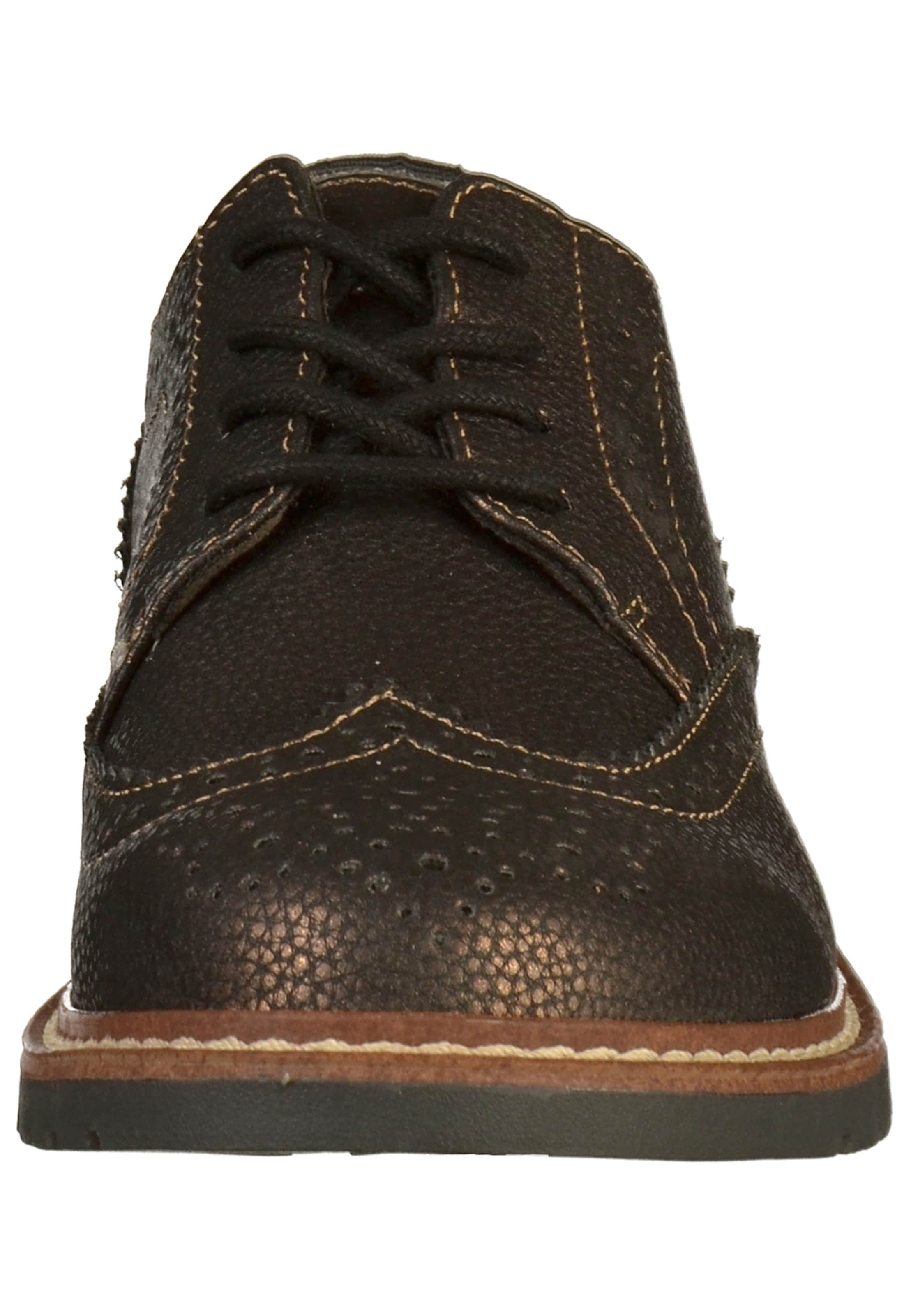 En oliver À Red Lacets Marron Chaussure S Label bfy6gY7