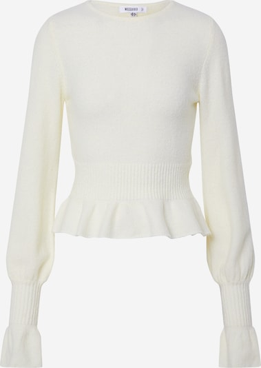 Missguided Pullover 'Jumper' in weiß, Produktansicht