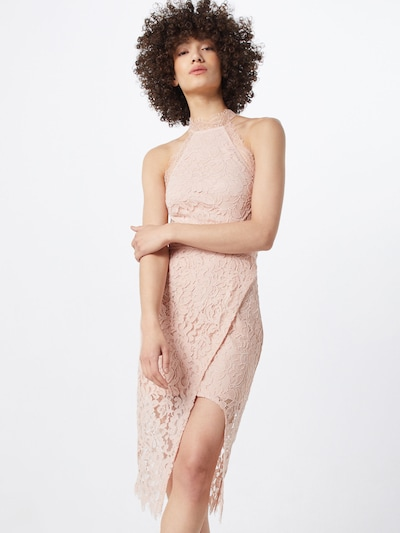 Love Triangle Kleid 'Keepsake ' in nude, Modelansicht
