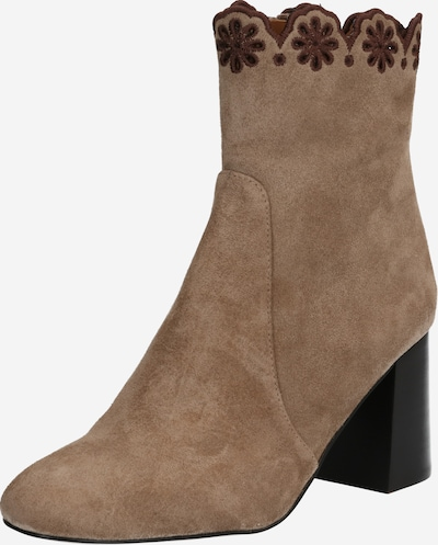 See by Chloé Stiefelette in taupe: Frontalansicht