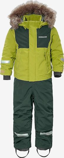 DIDRIKSONS1913 Schneeanzug 'Tirian' in tanne / hellgrün, Produktansicht