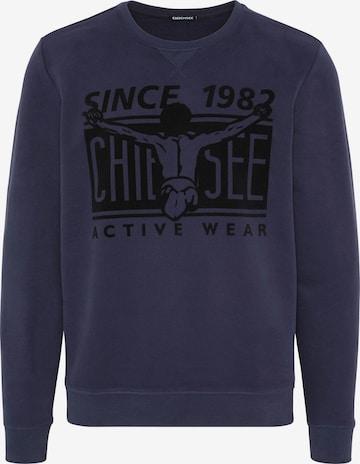 CHIEMSEE Sportsweatshirt i blå