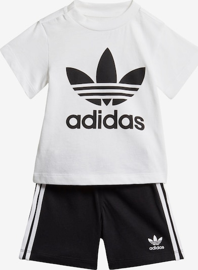 ADIDAS ORIGINALS Set in schwarz / weiß, Produktansicht
