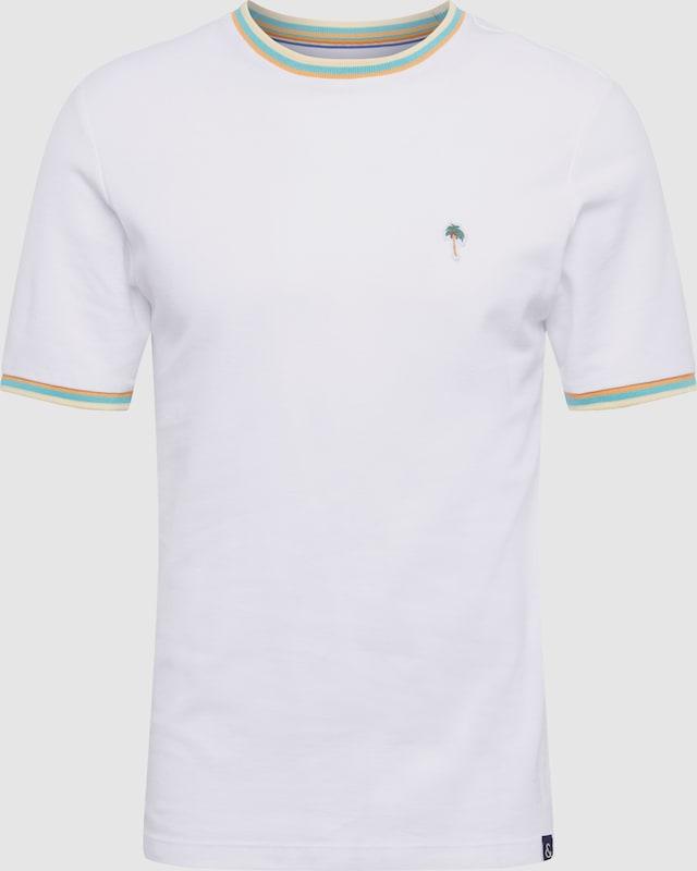 COLOURS & SONS Herren - Shirts & Polos 'RENE' in weiß  Neu in diesem Quartal