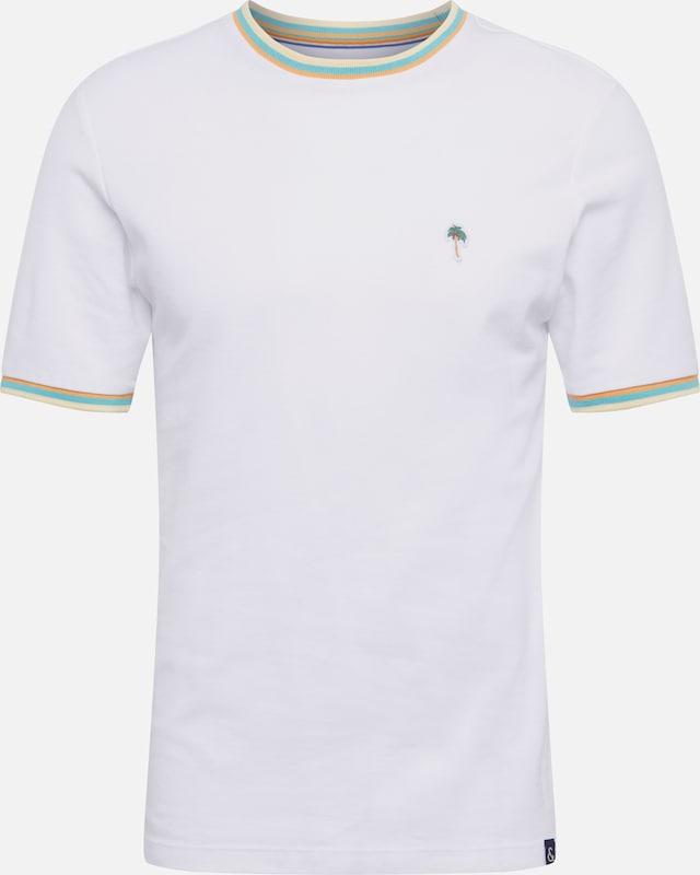 Coloursamp; Sons Blanc En T shirt 'rene' wk0PnN8OXZ