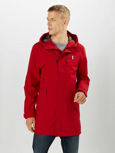 TOMMY HILFIGER Přechodný kabát - námořnická modř / červená / bílá, Model/ka