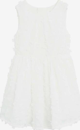MANGO KIDS Robe 'Kioto' en blanc, Vue avec produit
