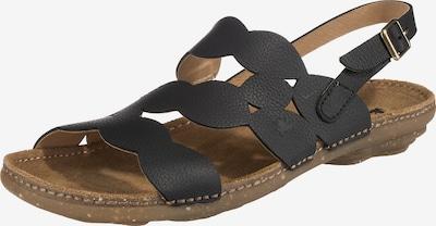EL NATURALISTA Sandale 'Topcal' in schwarz, Produktansicht