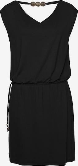 LASCANA Strandkleid in schwarz: Frontalansicht
