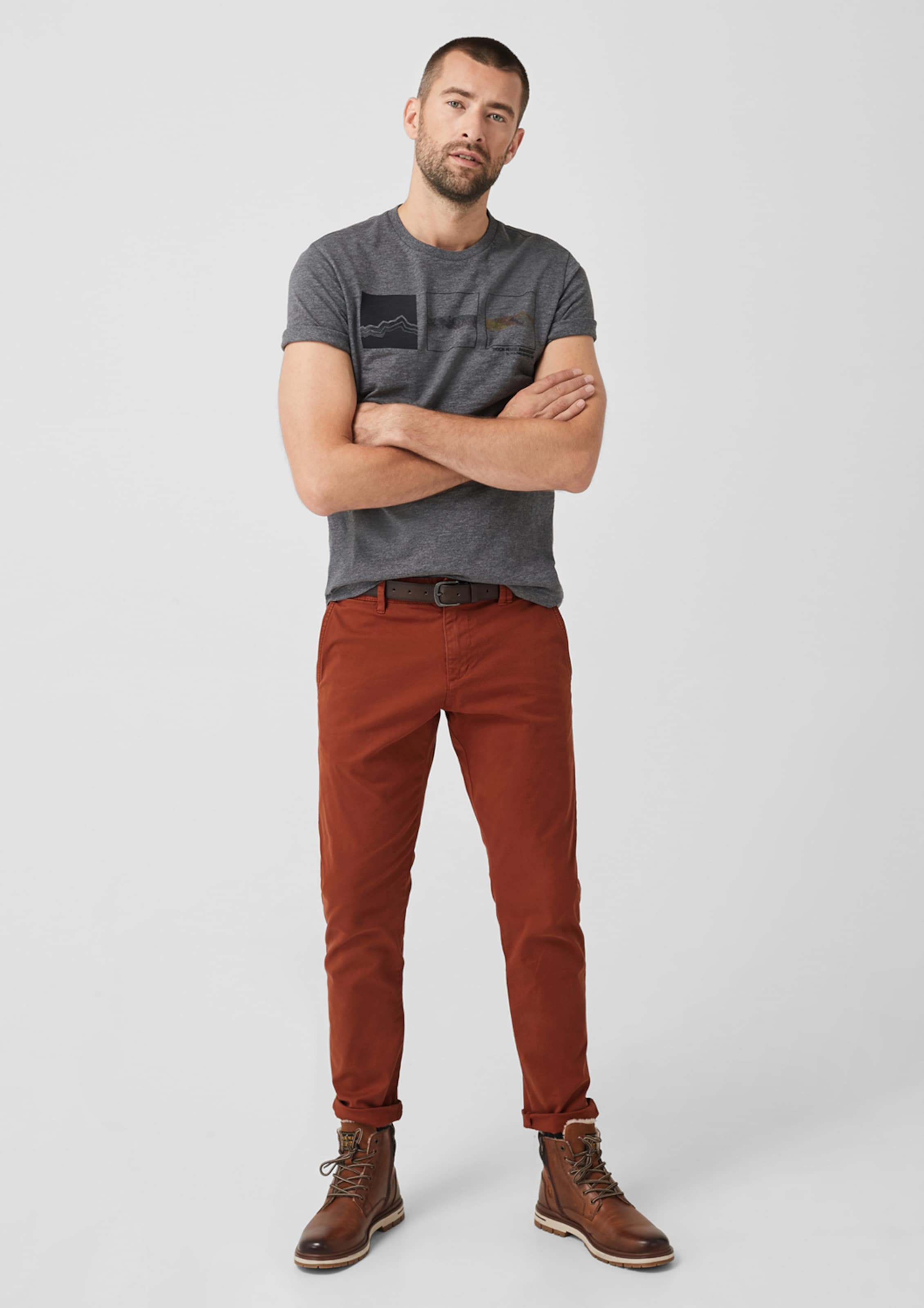 In S oliver oliver Chino Rostbraun S In Chino Rostbraun S In oliver Chino QrxsBhdCot