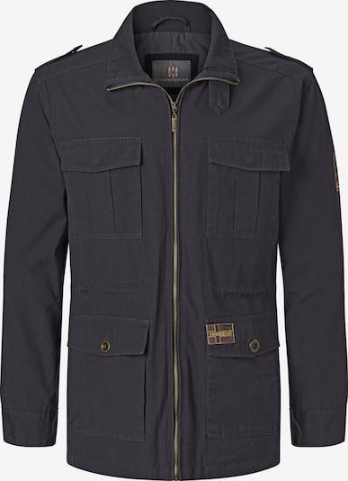 Jan Vanderstorm Fieldjacket 'Bror' in nachtblau, Produktansicht