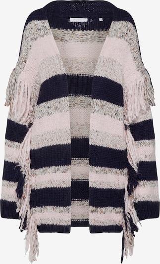 Rich & Royal Gebreid vest 'Cardigan Stripe' in de kleur Blauw / Rosa, Productweergave