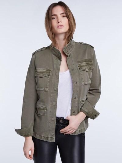 SET Jacke in khaki: Frontalansicht