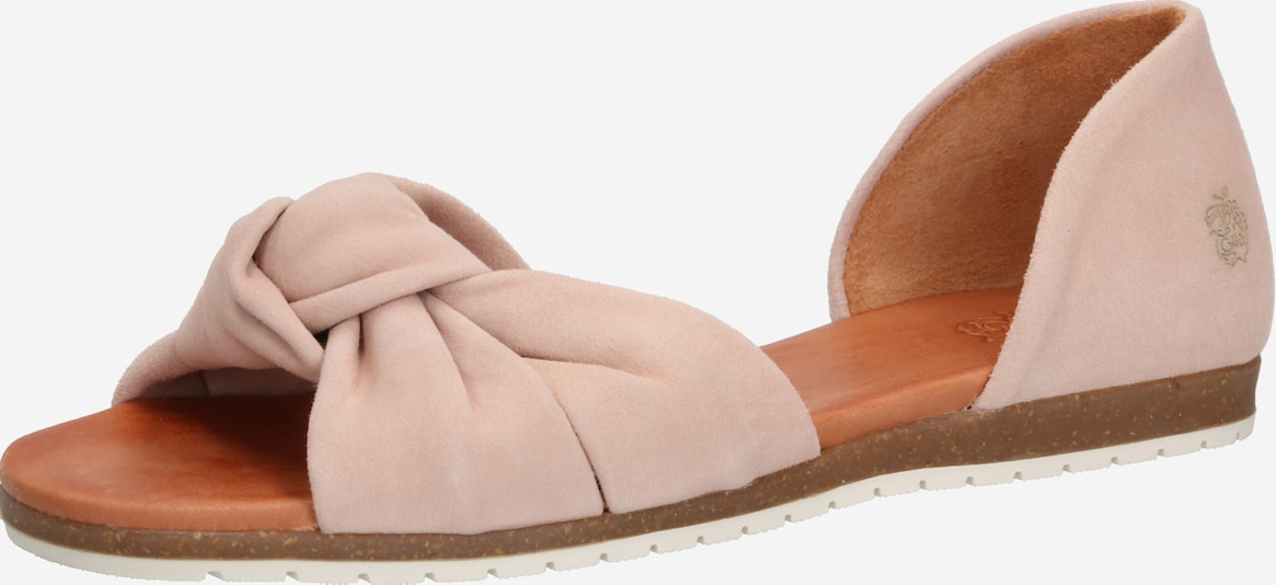 Apple of Eden Slipper 'CHELSEA' in nude / rosa, Produktansicht