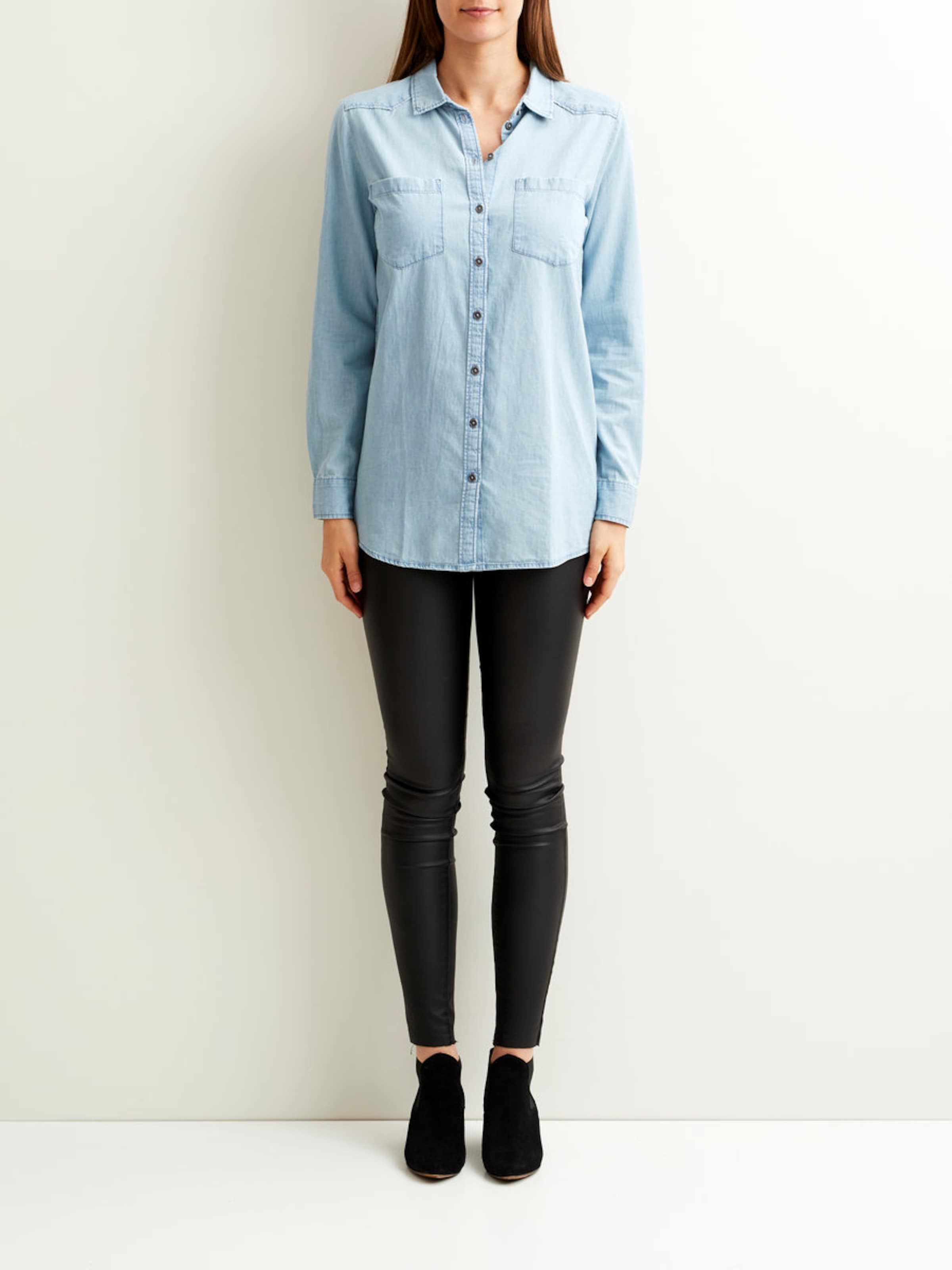 OBJECT Langarmhemd Jeans