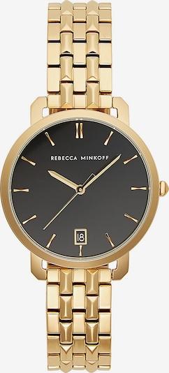 Rebecca Minkoff Uhr 'Billie' in gold / schwarz / weißmeliert, Produktansicht