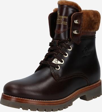 PANAMA JACK Boots 'Panama 03 Igloo Brk' i brun