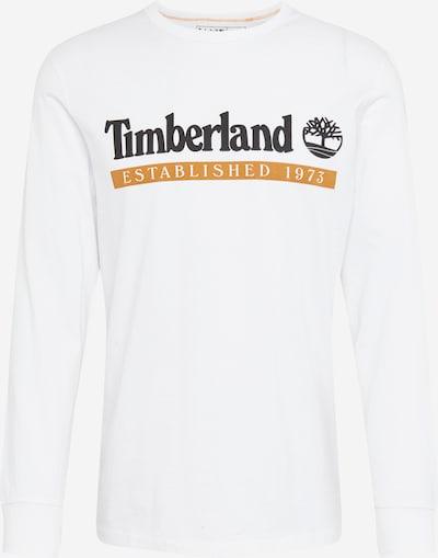 TIMBERLAND Shirt 'Estab 1973' in honig / schwarz / weiß, Produktansicht