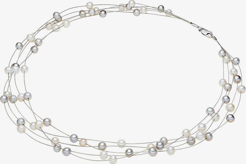 Valero Pearls Kette mit Süßwasser-Zuchtperlen in silber / perlweiß srhCLKvs
