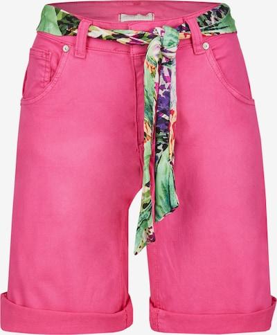Heimatliebe Shorts in mischfarben / fuchsia, Produktansicht