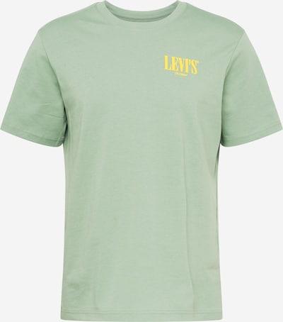 LEVI'S T-Shirt en jaune / vert pastel, Vue avec produit