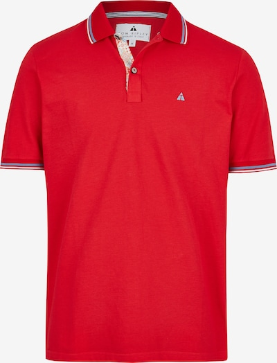 Tom Ripley Poloshirt in rot: Frontalansicht