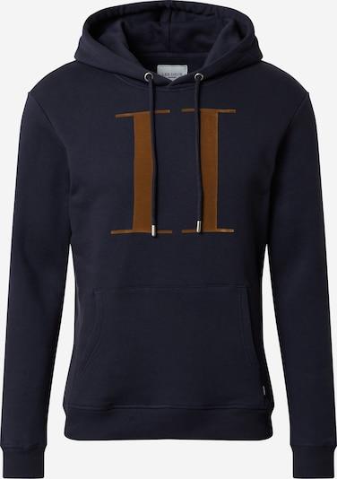 Les Deux Sweatshirt 'Encore' in navy / gold, Produktansicht