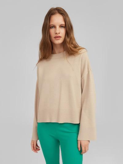EDITED Pullover 'Elira' in beige, Modelansicht
