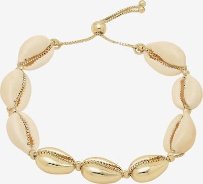 Pilgrim Bracelet 'Aki' en or, Vue avec produit