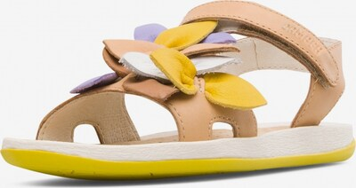 CAMPER Sandalen 'Bicho' in de kleur Beige / Geel / Lila / Wit, Productweergave