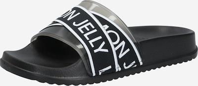 LEMON JELLY Muiltjes 'MAISIE' in de kleur Zwart / Wit, Productweergave