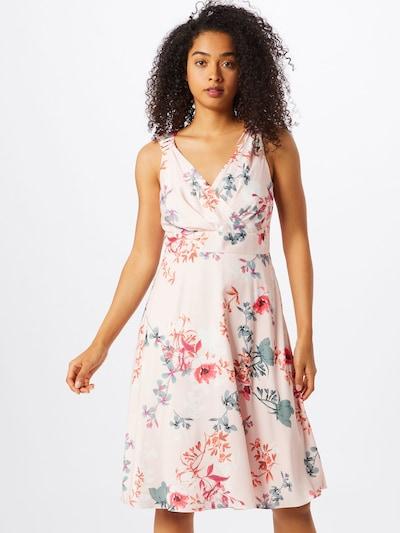 COMMA Kleid in mischfarben / hellpink, Modelansicht